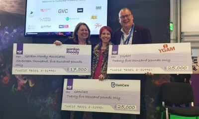YGAM, GamCare and Gordon Moody Association named sponsorship recipients at ICE London