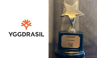 Yggdrasil wins Innovator of the Year at International Gaming Awards 2020