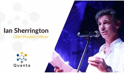 Ian Sherrington Appointed as Quanta CPO