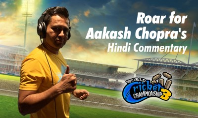 Aakash Chopra joins online cricket with the world's No.1 cricket game, World Cricket Championship