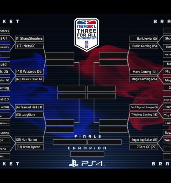 HAWKS TALON GC TO PLAY WIZARDS DG AT 8 P.M. TONIGHT IN ROUND 2 OF NBA 2K LEAGUE 'THREE FOR ALL SHOWDOWN'