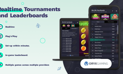 ORYX Gaming launches Tournaments and Leaderboards tool