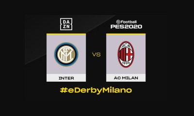 AC Milan and FC Internazionale Milano to play the first ever virtual Milan Derby on Pro Evolution Soccer 2020
