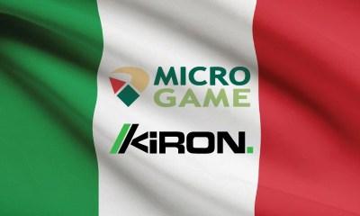 Kiron grows Italian market presence with Microgame partnership