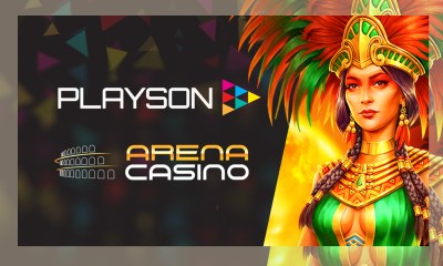 Playson strikes content deal with Arena Casino