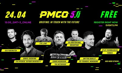 Parimatch hosts first ever live online public event PM GO: In Touch with the Future