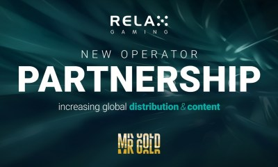 Relax Gaming partners with new online casino Mr. Gold