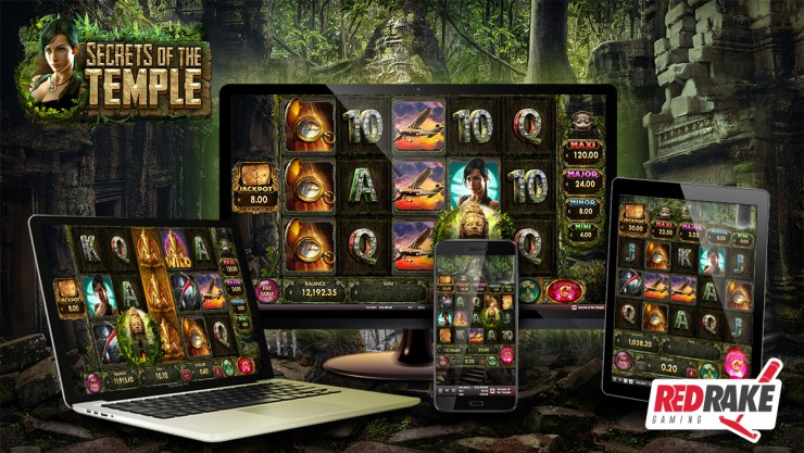 Secrets of the Temple, the new video slot from Red Rake Gaming