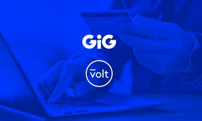 GIG signs agreement with Volt as main partner for open banking