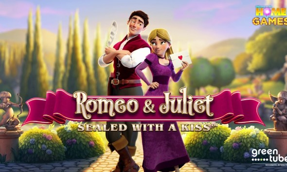 Greentube's Latest Slot Release - Fall In Love With Romeo & Juliet – Sealed With A Kiss™