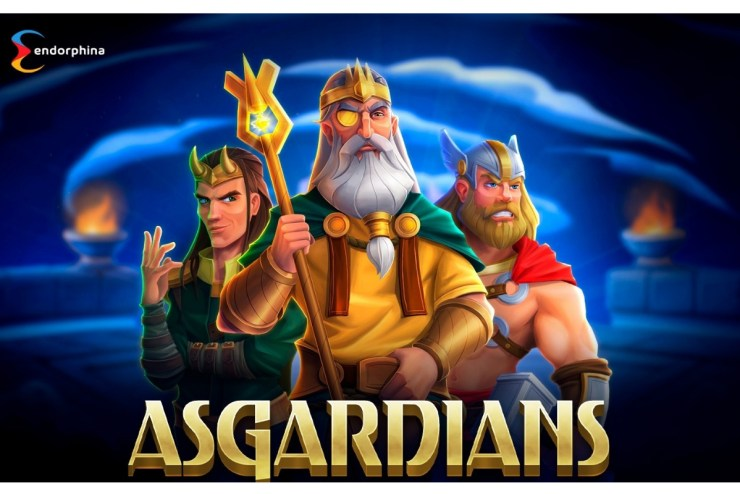 New slot from Endorphina - ASGARDIANS