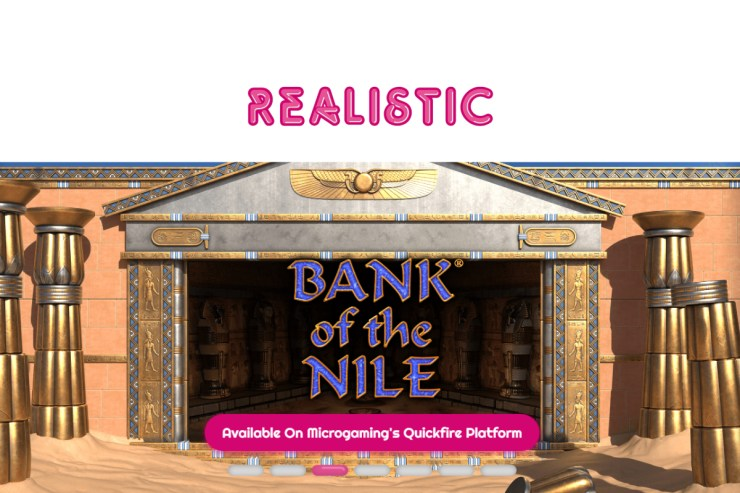 Uncover Hidden Treasures In The Tombs Of Realistic Games' New Slot Bank Of The Nile
