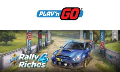 "Play'n GO ""Rally"" THREE New Titles for Latest Round of Releases"
