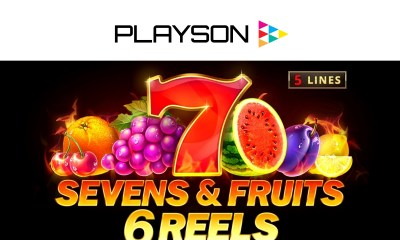 Playson expands Timeless Fruit Slots series with Sevens & Fruits: 6 Reels