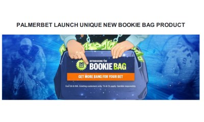 PALMERBET LAUNCH UNIQUE NEW BOOKIE BAG PRODUCT