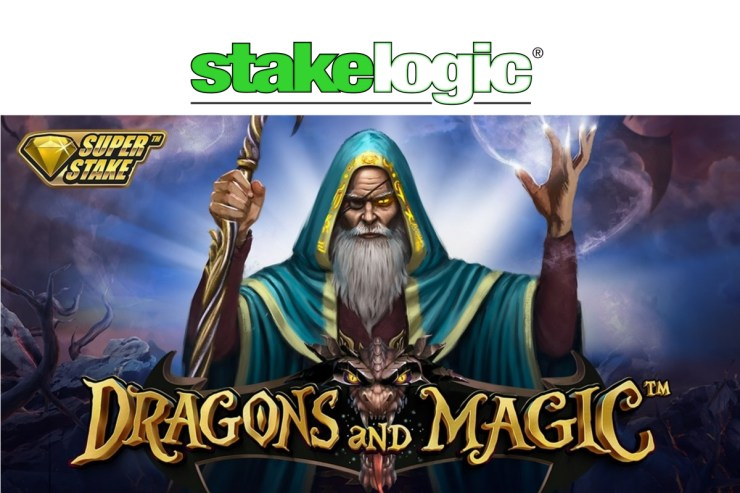 "Stakelogic Releases its Latest Slot ""Dragons and Magic"""