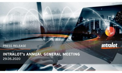 INTRALOT's Annual General Meeting 2020