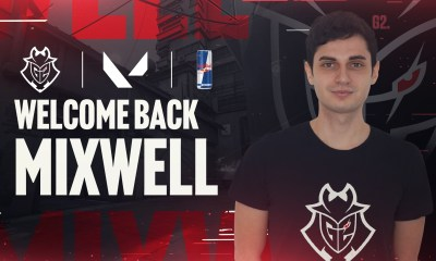 G2 Esports Introduces Mixwell as First Valorant Player, Red Bull as partner