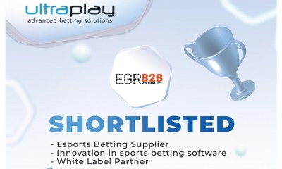 UltraPlay with a hat-trick in the EGR B2B Awards 2020 Shortlist