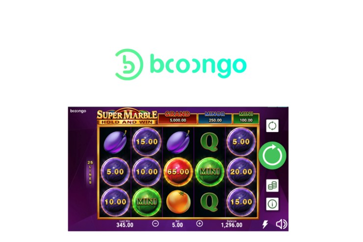 Booongo meluncurkan Super Marble: Hold and Win