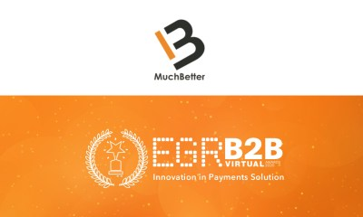 MuchBetter wins Innovation in payments solution at prestigious EGR B2B Awards