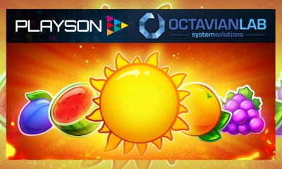 Playson teams up with Octavian Lab