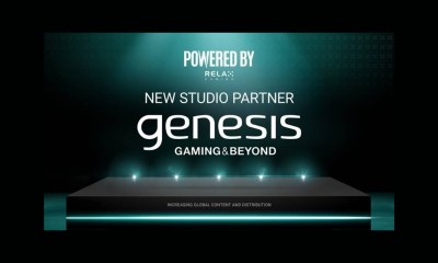 Relax Gaming adds Genesis Gaming to Powered By partner network