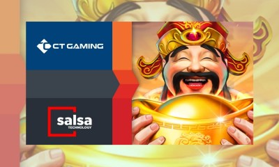Salsa Technology agrees content exchange deal with CT Gaming Interactive