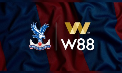 Crystal Palace Signs Shirt Sponsorship Deal with W88