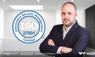 Wazdan awarded ISO/IEC 27001 Certificate