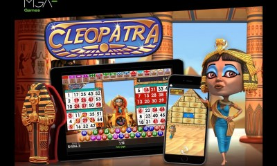 MGA Games bring Ancient Egypt to online casinos with Cleopatra video bingo