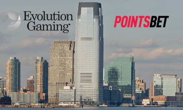 Evolution Selected for PointsBet US Live Casino Rollout