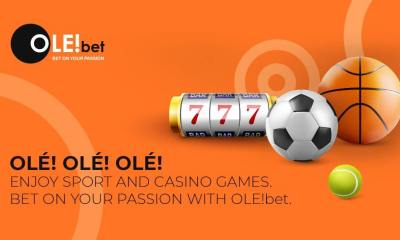 Exciting new sportsbook & online casino OLE!bet successfully launched