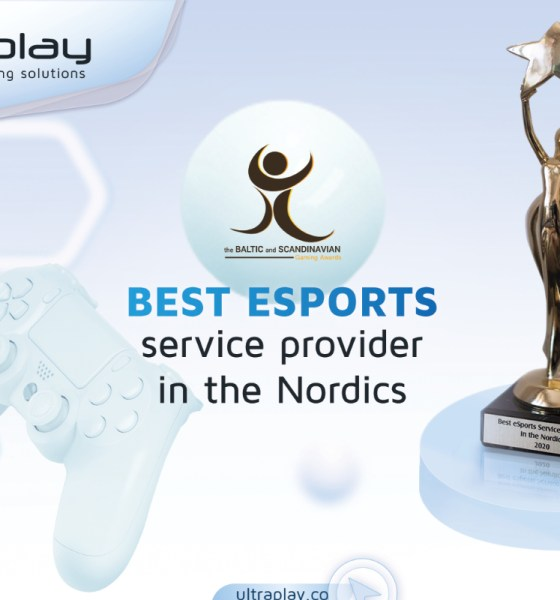 UltraPlay is the Esports Service Provider in the Nordics from BSG Awards 2020