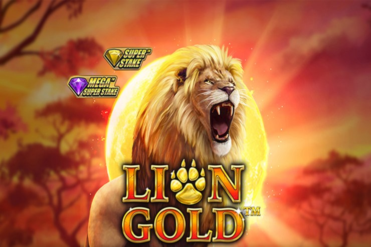 Stakelogic's Lion Gold Slot Comes with Mega Super Stake Feature