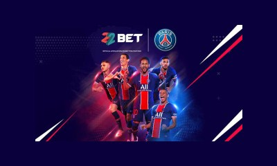 Paris Saint-Germain Partners with 22BET
