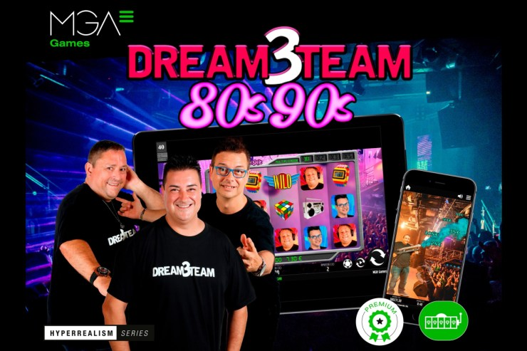 DREAM3TEAM casino slot by MGA Games is now available for the Spanish market