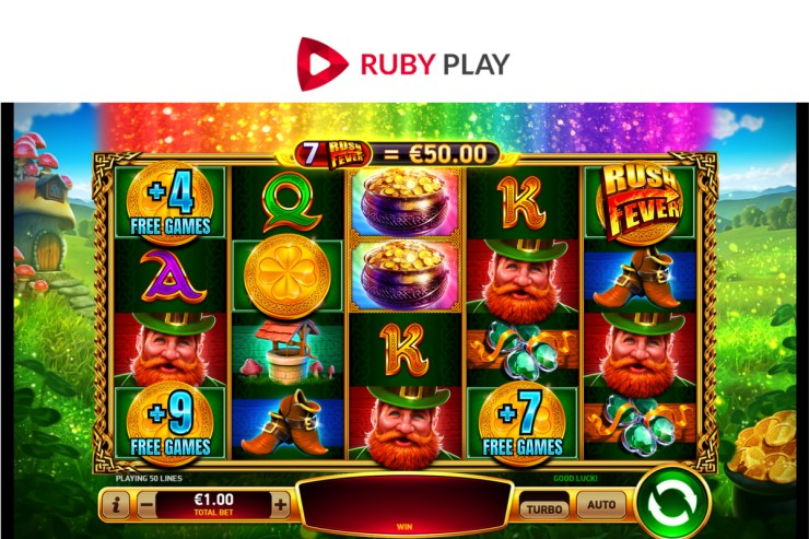RubyPlay meluncurkan slot video baru bertema Irlandia Shake Shake Leprechaun