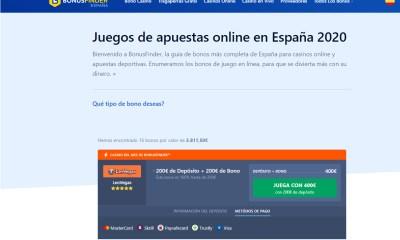 BonusFinder launches Spanish offering
