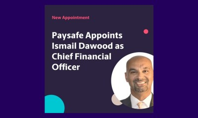 "Paysafe Group Appoints Ismail (""Izzy"") Dawood as Group Chief Financial Officer"