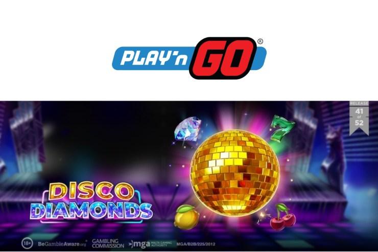 Play'n GO Hadirkan Musik dengan Slot Disco Diamonds