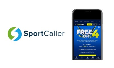 SportCaller launches Free Or 4 with William Hill to ramp retention on UK football