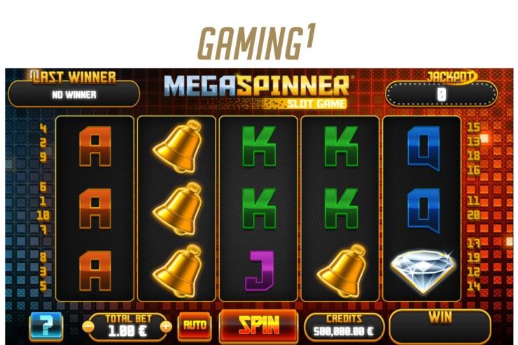 GAMING1 memperbarui roda dengan Mega Spinner