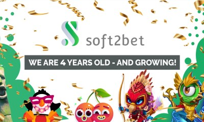 Soft2bet celebrates four years of operation