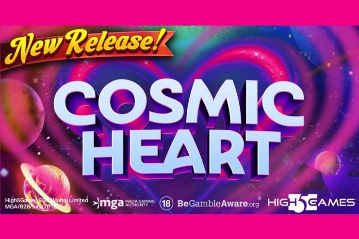 High 5 Games merilis slot bertema ruang angkasa baru galaksi, Cosmic Heart