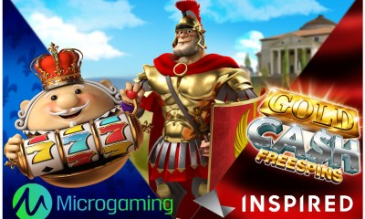 Inspired games now available with Microgaming
