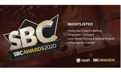 SBC Awards 2020 - NSoft to compete in three categories