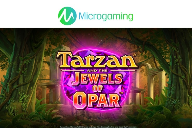 Microgaming's Tarzan® dan Jewels of Opar ™ ditayangkan