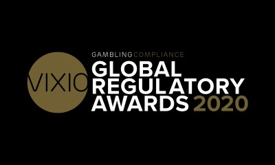 VIXIO GamblingCompliance announces 2020 Global Regulatory Awards shortlist
