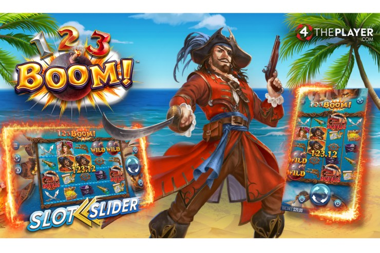 Jump aboard for explosive Wild Wins in 123 BOOM! By 4ThePlayer.com